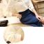 เสื้อแขนยาวแฟชั่นคอลูกไม้สวยหรู สีดำ thumbnail 16