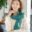 ผ้าพันคอแฟชั่น Cotton Candy : สี Pine Green thumbnail 3