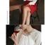 เสื้อทำงานแฟชั่นแขนยาว ผ้าชีฟอง ไหล่ลูกไม้ สีขาว พร้อมประดับพลอย thumbnail 6