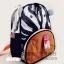 (ม้าลาย) กระเป๋าเป้งาน zoo pack พิเศษรุ่นซิปเป็นรูปสัตว์ตามแบบกระเป๋าค่ะ thumbnail 2
