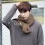 ผ้าพันคอผู้ชาย Man scarf ผ้า cashmere 180x30 cm - สี Coffee thumbnail 1