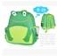 (กบ) กระเป๋าเป้ zoo pack พิเศษรุ่นซิปเป็นรูปสัตว์ตามแบบกระเป๋าค่ะ thumbnail 2