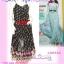 #หมด# สไตล์แบรนด์ KLOSET เชียร์สวยค่ะสาวอวบห้ามพลาด! LDB462:: KlosetStyle Dress แซคผ้าชีฟอง ดีไซน์หรูสุดๆเป็นชั้นๆ พริ้วสวยงามมาก ใส่ออกงานได้ Bl thumbnail 1