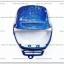 หน้ากาก JR120 สีน้ำเงินเมท