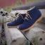 รองเท้าผู้ชาย | รองเท้าแฟชั่นชาย Blue Ankle Boot หนังนูบัคแท้ กันน้ำ thumbnail 2