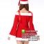 ชุดซานตาครอสสาว ชุดซานตี้ ชุดซานตาครอส ชุดแฟนซีซานต้า ชุดแฟนซี ชุดคอสเพลย์ ชุดแฟนซีสีแดง thumbnail 2