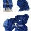 ผ้าพันคอแฟชั่น Cotton Candy : สี Royal Blue thumbnail 2