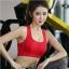 สปอร์ตบราสาวอวบ สำหรับออกกำลังกาย+โยคะ กระชับทุกการเคลื่อนไหว สีแดง/สีดำ/สีฟ้าเข้ม (L,XL,2XL,3XL,4XL) ZY7850