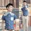 เสื้อผ้าผู้ชาย | เสื้อเชิ้ตผู้ชาย เสื้อเชิ้ตแฟชั่นชาย แขนสั้น แฟชั่นเกาหลี thumbnail 3