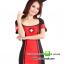 ชุดพยาบาลดำแดง ชุดแฟนซีพยาบาล ชุดแฟนซีอาชีพ ชุดแฟนซีเครื่องแบบ ชุดคอสเพลย์ ชุดพยาบาลหญิง thumbnail 1