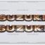โลโก้ SUZUKI สีทอง 19cm.x3cm. (2ชิ้น/ชุด)