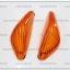 ฝาไฟเลี้ยวหน้า SONIC ฝาส้มพร้อมยาง (คู่ละ) thumbnail 1