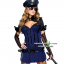 ชุดตำรวจหญิง ชุดแฟนซีเครื่องแบบ ชุดคอสเพลย์ตำรวจ ชุดตำรวจสาว ชุดแฟนซีอาชีพ ชุดแอร์โฮสเตส thumbnail 1