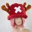 หมวกช๊อปเปอร์ One Piece สีแดงเข้ม thumbnail 1