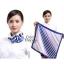 ผ้าพันคอจัตุรัส ผ้าพันคอ uniform รหัส S16 - size 60 x 60 cm. thumbnail 1