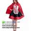ชุดเจ้าหญิงดิสนีย์ ชุดหนูน้อยหมวกแดง ชุดแฟนซี ชุดคอสเพลย์ ชุดแฟนซีนิทาน ชุดแฟนซีการ์ตูน thumbnail 2