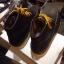 รองเท้าผู้ชาย | รองเท้าแฟชั่นชาย Dark Brown Boots หนังชามัวร์ (หนังลูกวัวแท้) thumbnail 3