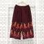 ส่ง:กางเกงพรีทเชิงปลายดอกสดใสผ้าเนื้อดีทิ้งตัว/เอวยืด26-48 thumbnail 1