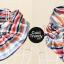 ผ้าพันคอสำเร็จรูป ผ้ายูนิฟอร์ม uniform ผ้าไหมซาติน : L26 thumbnail 3