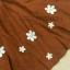 พร้อมส่งสต๊อกร้านเอง FGM dress เดรสกวาง ฮิตสุดๆ ชุดเดรสใส่เปนเอี้ยมก้ได้คร่า เนื้อผ้าลุกฟุกโทนสีน้ำตาลอมส้ม เนื้อผ้าเดียวกับในชอป สีเป้ะม่ายเพี้ยน thumbnail 7