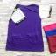 ส่ง:เสื้อยาวทรงใส่สบายต่อแขนลูกไม้เป๋า2ข้างจกล้วงได้/อก39 thumbnail 2
