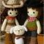 แพทเทิร์นตุ๊กตาถักคาวบอย คาวเกิร์ล และลูกแกะ thumbnail 3
