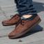 รองเท้าผู้ชาย | รองเท้าแฟชั่นชาย รองเท้าหนังกลับ แฟชั่นเกาหลี thumbnail 3