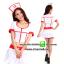 ชุดพยาบาลสาวสีขาวขลิบแดง ชุดแฟนซีอาชีพ ชุดแฟนซีพยาบาล ชุดคอสเพลย์ ชุดแฟนซีอาชีพในฝัน thumbnail 1