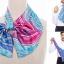 ผ้าพันคอสำเร็จรูป ผ้ายูนิฟอร์ม uniform ผ้าไหมซาติน : L85 thumbnail 2