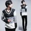 เสื้อผ้าผู้ชาย   เสื้อกันหนาว เสื้อแขนยาว แฟชั่นเกาหลี thumbnail 1
