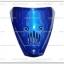 บังแตร WAVE125 สีน้ำเงิน
