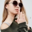 ASOS Hexagon Sunglasses In Rose Gold thumbnail 1