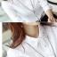 เสื้อเชิ้ตทำงานผู้หญิงแขนยาวแฟชั่นสีขาว thumbnail 22