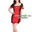 ชุดพยาบาลดำแดง ชุดแฟนซีพยาบาล ชุดแฟนซีอาชีพ ชุดแฟนซีเครื่องแบบ ชุดคอสเพลย์ ชุดพยาบาลหญิง thumbnail 2