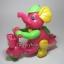 ช้างน้อยปั่นจักรยาน เชือกดึง วิ่งได้ สีชมพู thumbnail 1