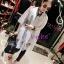 เอาใจสาวอวบ พร้อมส่งไซส์ 2XL 3XL ATA483 Forever21 Lace Long Top เสื้อตัวยาวลูกไม้สีขาว สวยเก๋ ใส่สบาย #568 thumbnail 1