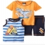 เสื้อสีเหลืองลายไดโนเสา + เสื้อกล้าม + กางเกง (เซต 3 ชิ้น) thumbnail 1