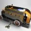 ของเล่นโบราณ รถบัส 2 ชั้น สีเหลืองไขลาน thumbnail 3