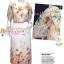 [มี3สี] เทรนด์แรงกับMaxi Dress:DB984 ใหม่! ชุดแซก/แม๊กซี่เดรสแขนตุ๊กตาเว้าไหล่ ระบายไหล่ ผ้าชีฟองดอกไม้สีหวานลายเชิง มีซับใน Or thumbnail 1