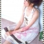 [มีหลายสี] อก36-42#Bestseller# สาวอวบห้ามพลาด! LDB512::แบบสาวญี่ปุ่น Western Style เดรสสายผูกช่วงอกผูกไขว้ชายย้วยแต่งลูกไม้และผ้าลายดอกพื้นสีเอิร์ธโทน thumbnail 4