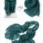 ผ้าพันคอแฟชั่น Cotton Candy : สี Pine Green thumbnail 2