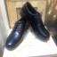 รองเท้าผู้ชาย | รองเท้าแฟชั่นชาย Black Derby Cut Shoes Smooth Leather หนังวัวแท้ thumbnail 4