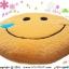 เบาะรองนั่งแฟนซี-พระจันทร์ยิ้ม-สีส้ม thumbnail 2