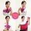 ผ้าพันคอสำเร็จรูป ผ้ายูนิฟอร์ม uniform ผ้าไหมซาติน : L05 thumbnail 3