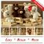 แพทเทิร์นตุ๊กตาถัก Cony Brown Moon thumbnail 1