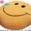 เบาะรองนั่งแฟนซี-พระจันทร์ยิ้ม-สีส้ม thumbnail 3