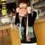 ผ้าพันคอ ผ้าคลุมพัชมีนา Pashmina scarf ลายตาราง size 200x60 cm - สี Light Pink thumbnail 6