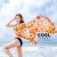ผ้าคลุมชุดว่ายน้ำ ผ้าคลุมชายหาด ผ้าชายทะเล SH785 : ผ้าชีฟอง size 140x80 cm (มีสายคล้องแขน) thumbnail 3
