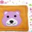 พรมเช็ดเท้าแฟนซี-Size L-หมี-ส้ม thumbnail 3