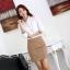 เสื้อเชิ้ตทำงานผู้หญิงแขนยาว สีขาว thumbnail 9